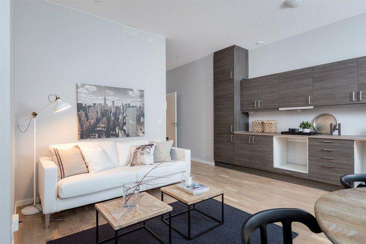 Vente appartement 3 pieces de 58 m2 34160 castries 2635 for Cuisine ouverte sur salon 25m2